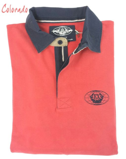 Alan : Polo Rugby Homme manches longues